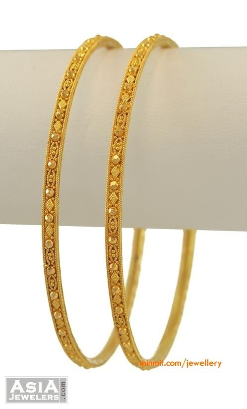 644f78a4cdb 22K Gold Bangles | Baubles | Gold bangles, Gold bangles design, Jewelry