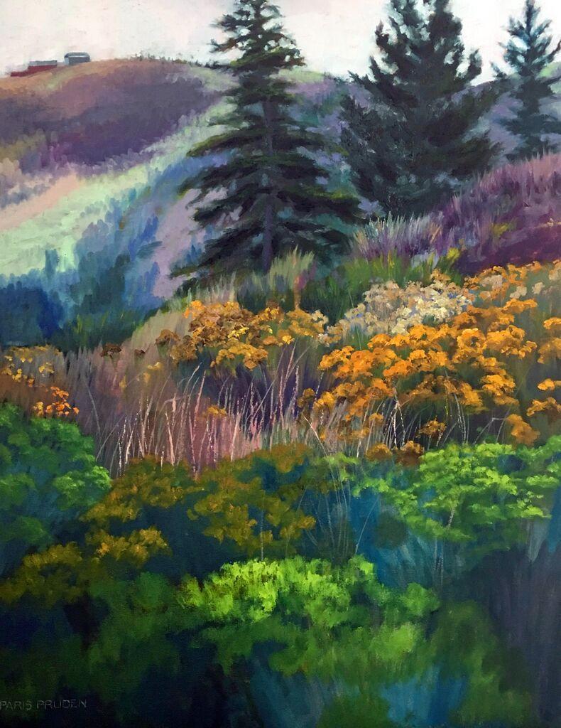 Dropbox Wildflowers Up the Hill.jpg Landscape, Wild