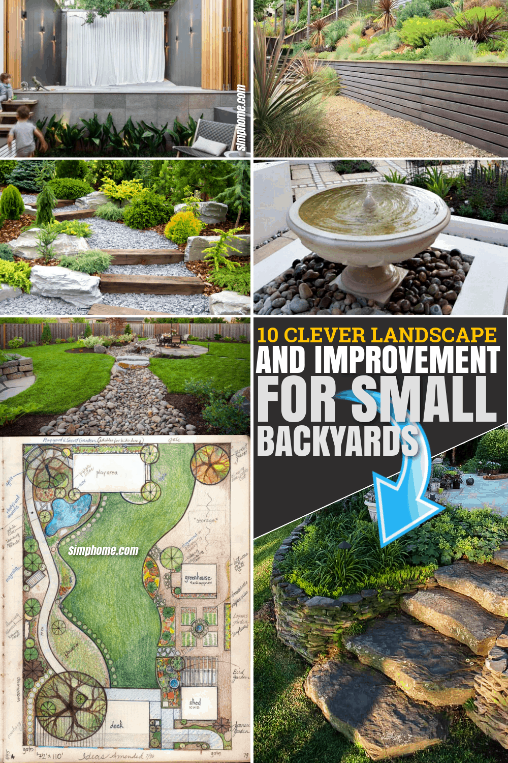 14 Clever Landscape Design Plans And Improvements For A Small