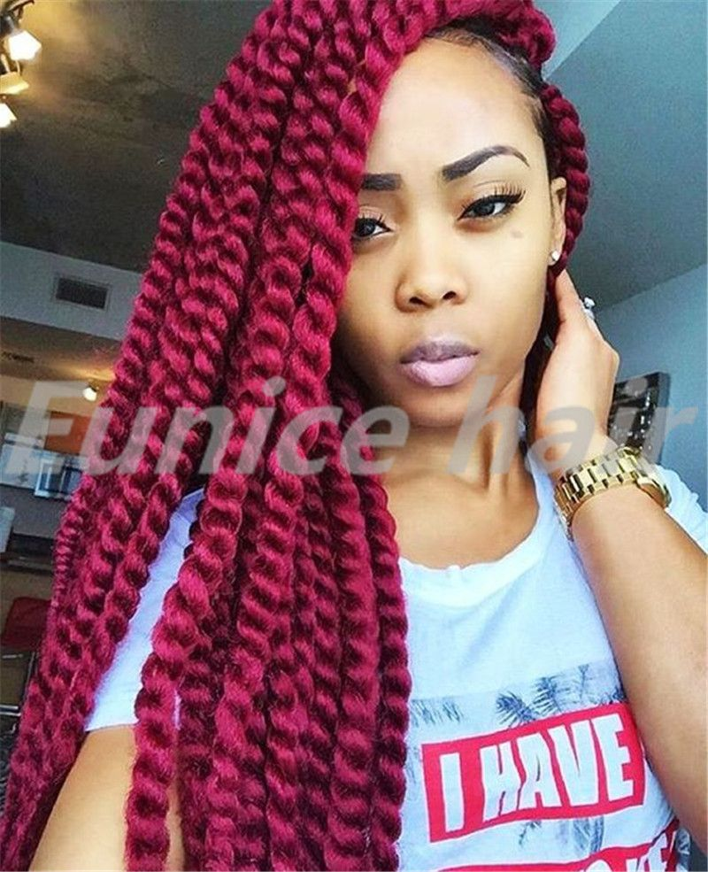 Fabulous Preminum 2X Havana Mambo Twist Crochet Pretwist Hair Extension Short Hairstyles For Black Women Fulllsitofus