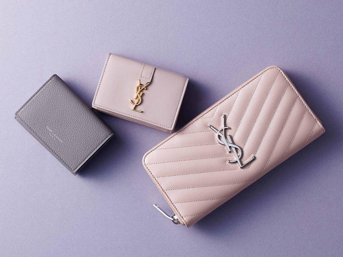 ab46e915b6a938 サンローランのミニ財布など、口コミでも好評のご自慢ブランドでお財布 ...