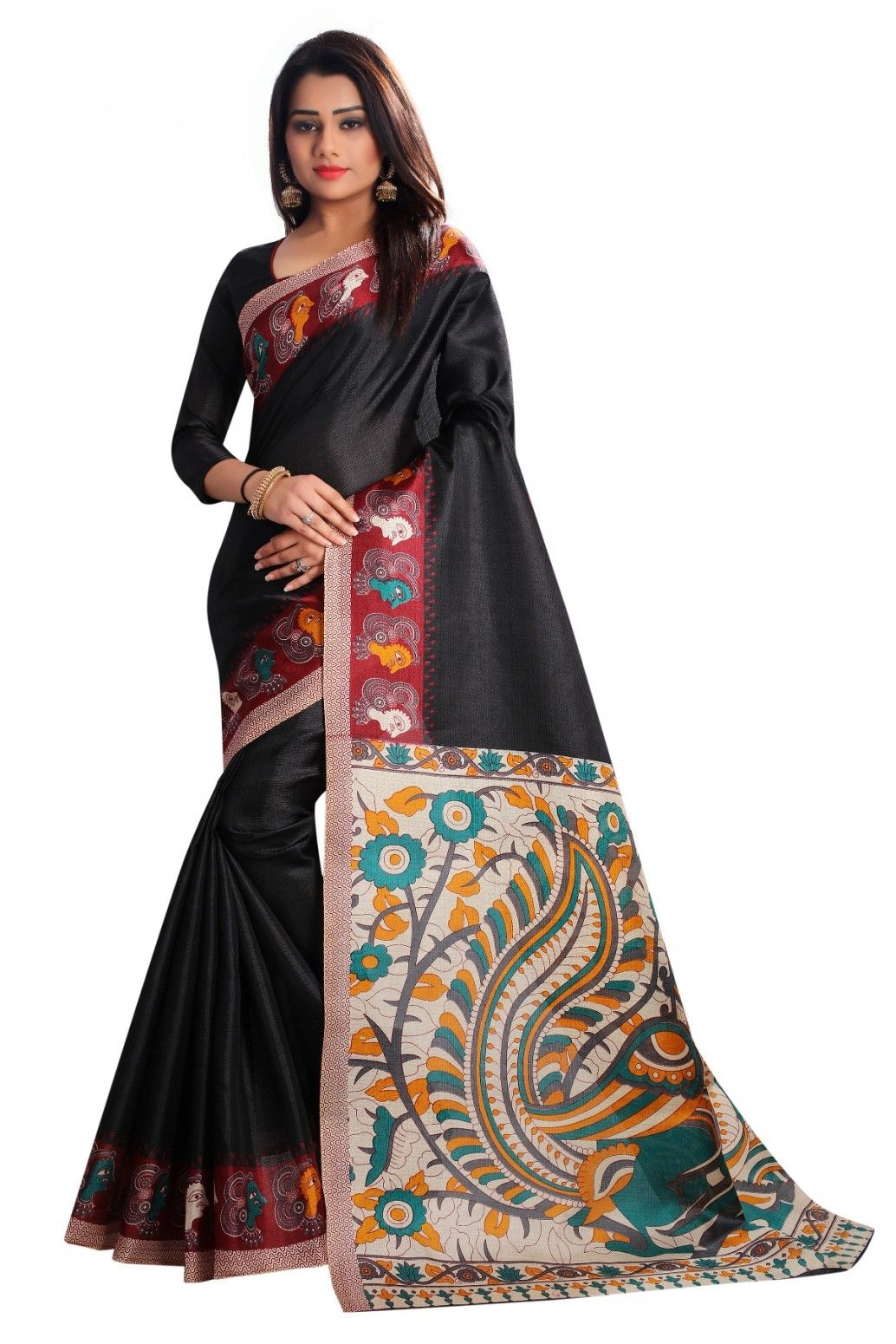 0546dda628 Buy Mastani Traditional Print Cotton Saree For Womens Online at Low prices  in India on Winsant, India fastest online shopping website.