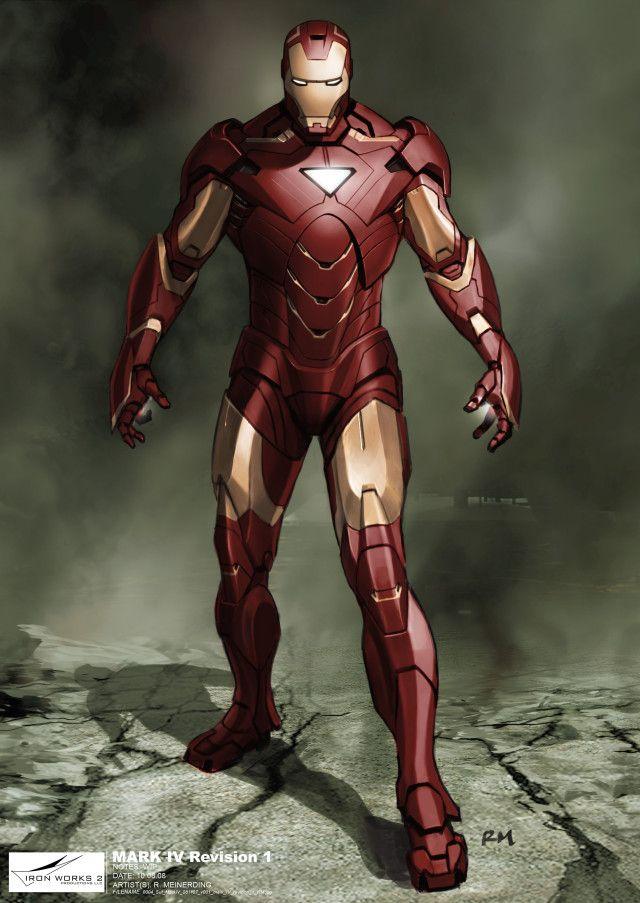 Iron Man Mark Iv Suit Concept Art By Ryan Meinerding Iron Man