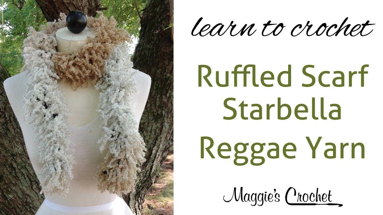 Starbella Reggae Scarf Easy Crochet Lesson with Maggie Weldon ...