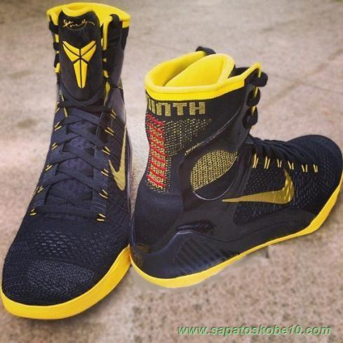 tenis de basket Nike Kobe 9 Elite PE 646801-511