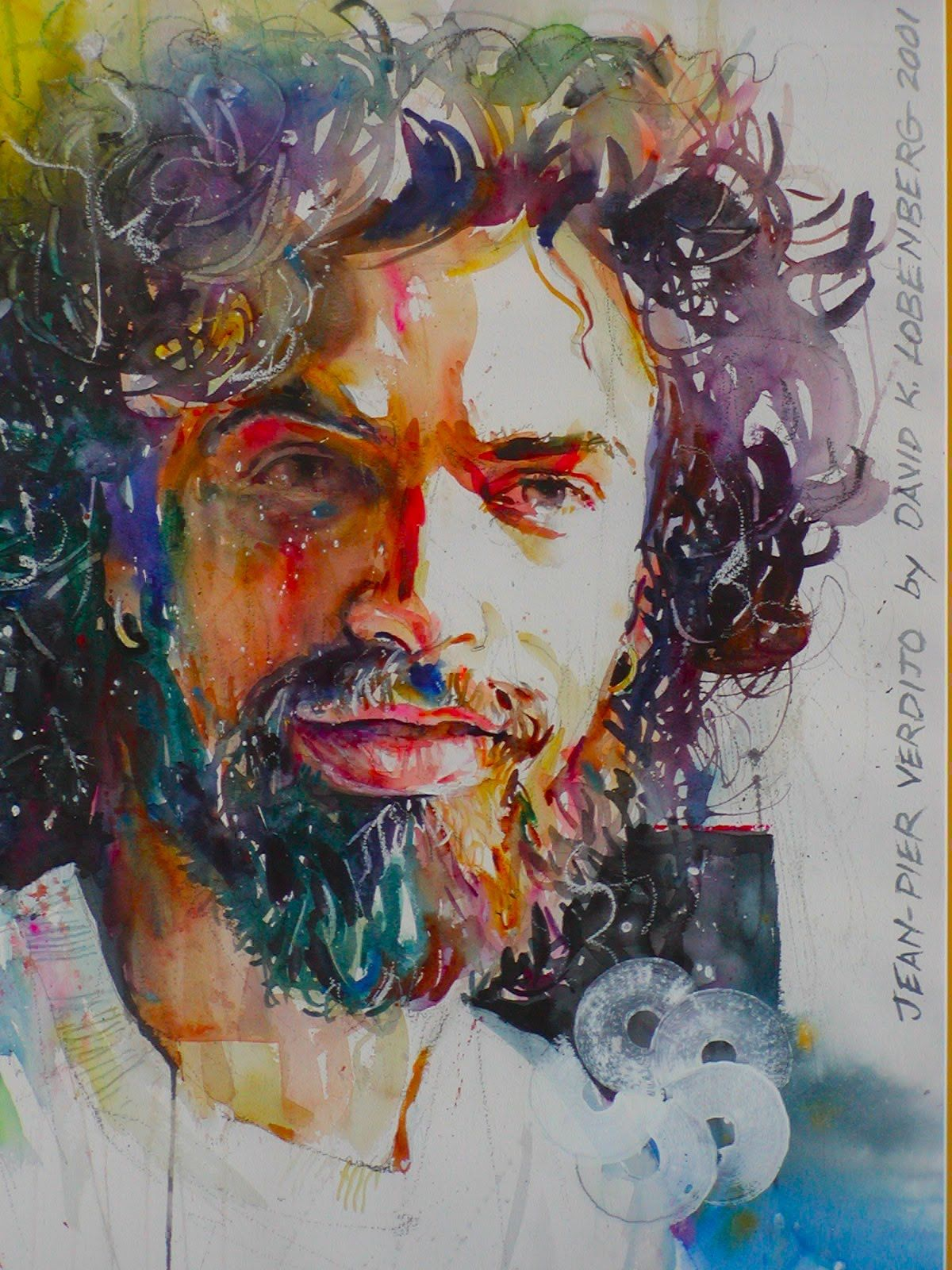 Watercolor Portraits From Ye Old Lobenberg Archive Portrait Art