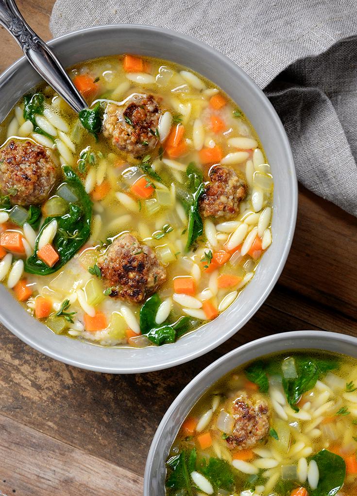 Italian Wedding Soup Recipe Wedding soup, Cooking