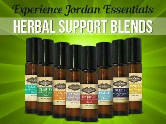 Have you tried our outstanding Herbal Support Blends yet?   #NaturalWellness #EssentialOils #JordanEssentials.com