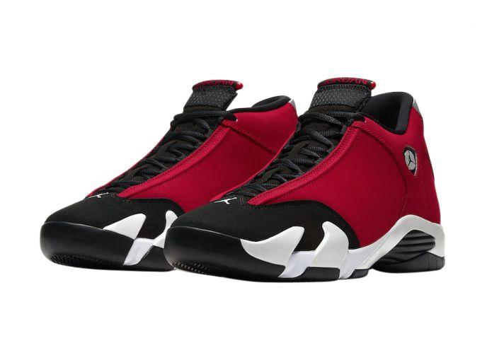 Air Jordan 14 Gym Red in 2021   Air jordans retro, Jordan shoes ...