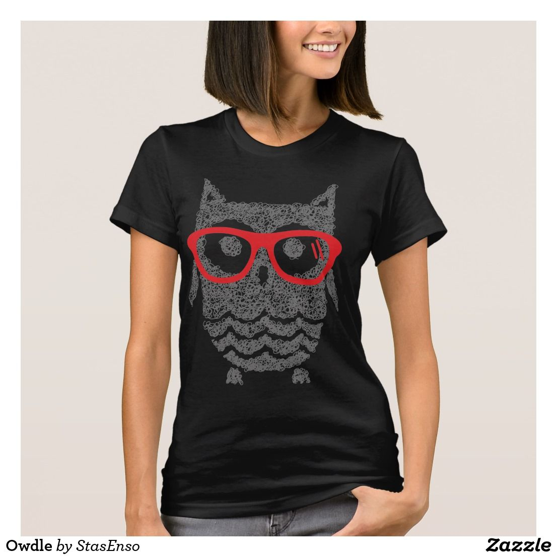 49794c202 Owdle T-Shirt   Zazzle.com   jewelry accessories and summer fashion ...