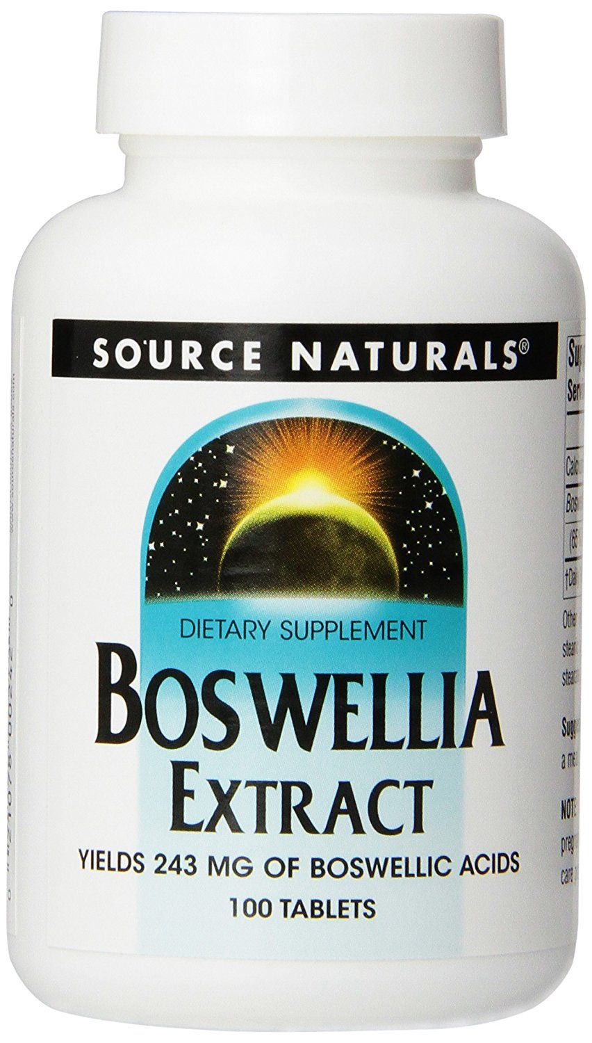 Source Naturals Boswellia Extract, Boswellic Acids 243 mg, 100