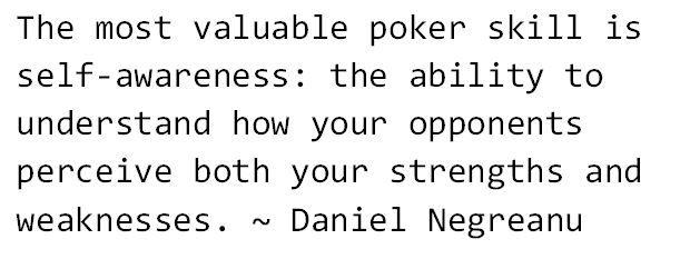 Daniel Negreanu - via Twitter August 2014
