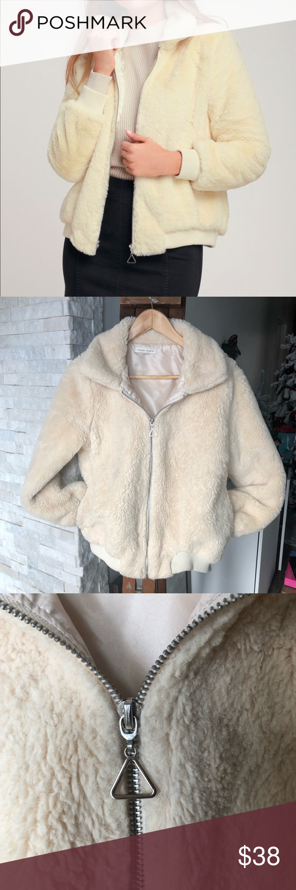 Fuzzy Bomber Jacket Add A Little Drama To Your Look With The Olly Cream Faux Fur Bomber Jacket Extra Luxe Clothes Design Faux Fur Bomber Jacket Bomber Jacket [ 1740 x 580 Pixel ]