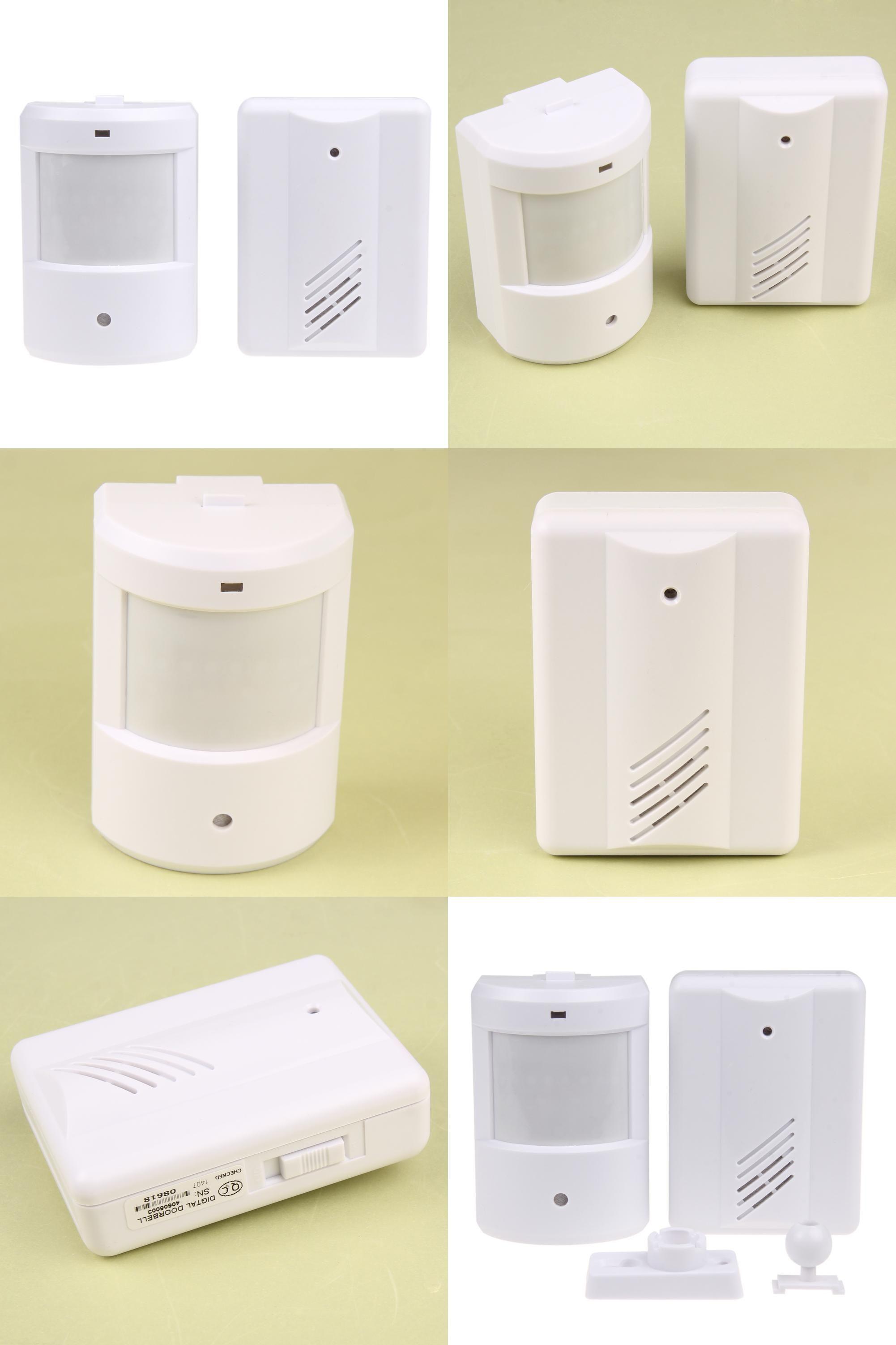 Visit to Buy] Music Wireless Doorbell Infrared Monitor Body Sensor