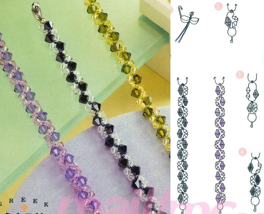 Crystal Bead Bracelet Tutorial