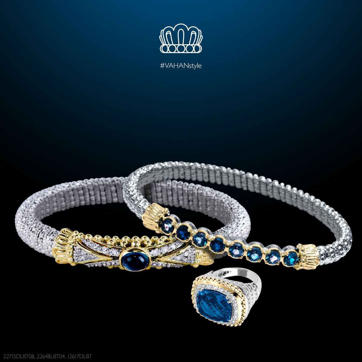Show some color this weekend! #VAHAN #VAHANstyle #Bracelet #Gold #Silver #Diamonds #Gems
