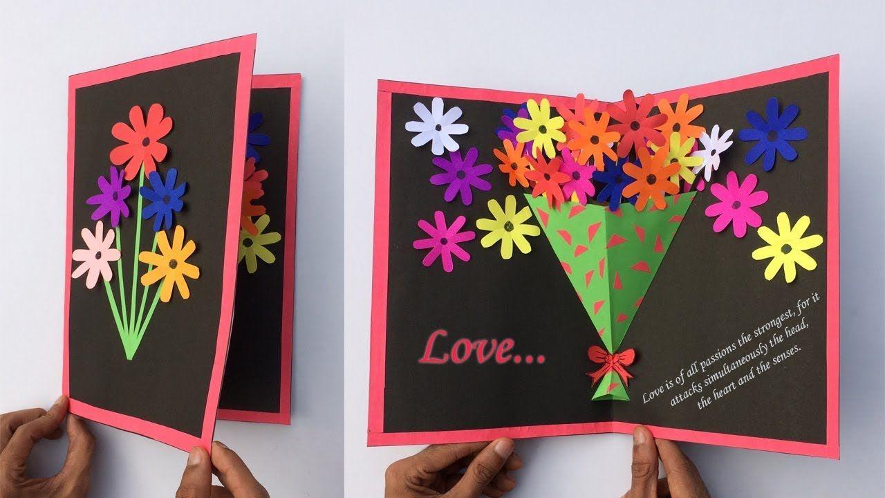 Kagaj Ka Greeting Card In 2021 Happy New Year Cards How To Make Greetings 50th Birthday Cards
