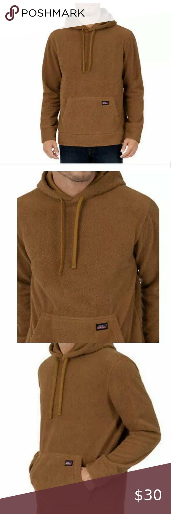 Genuine Dickies Men Faux Sherpa Pullover Hoodie Perfect Sweatshirt As A Gift For Him Or To Keep Cozy For You Bran Hoodies Sherpa Pullover Pullover Hoodie [ 1740 x 580 Pixel ]