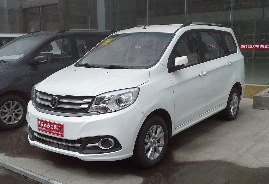 Jinbei 750 China 2016 04 07 Brilliance Auto Wikipedia Cars