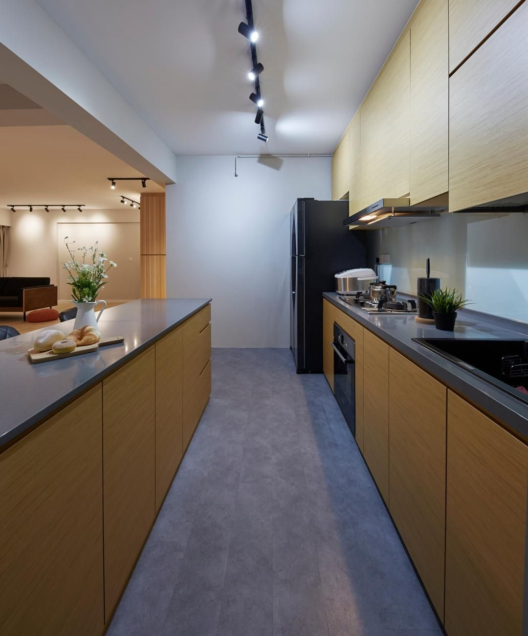 Check Out This Contemporary-style HDB Kitchen And Other