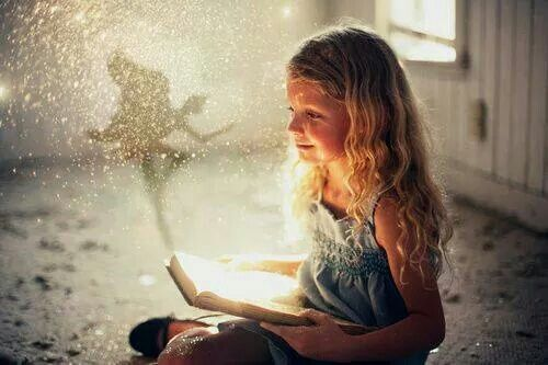 Open a book,open the doors to magic