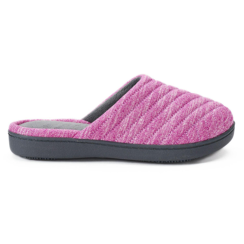 ca3fd9b1a8914 isotoner Women's Andrea Space Knit Clog Slippers #Andrea, #Women, #isotoner,