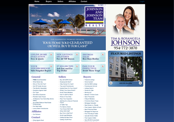 Pin By Johnson And Johnson Team Realty On South Florida Real Estate Johnson Johnson Web Design Real Estate