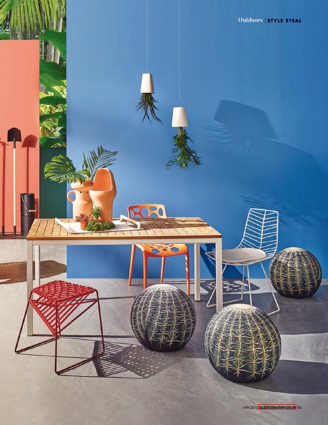 26+ Elle decor outdoor furniture ideas