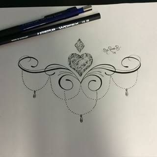 Image result for under boob tattoo designs
