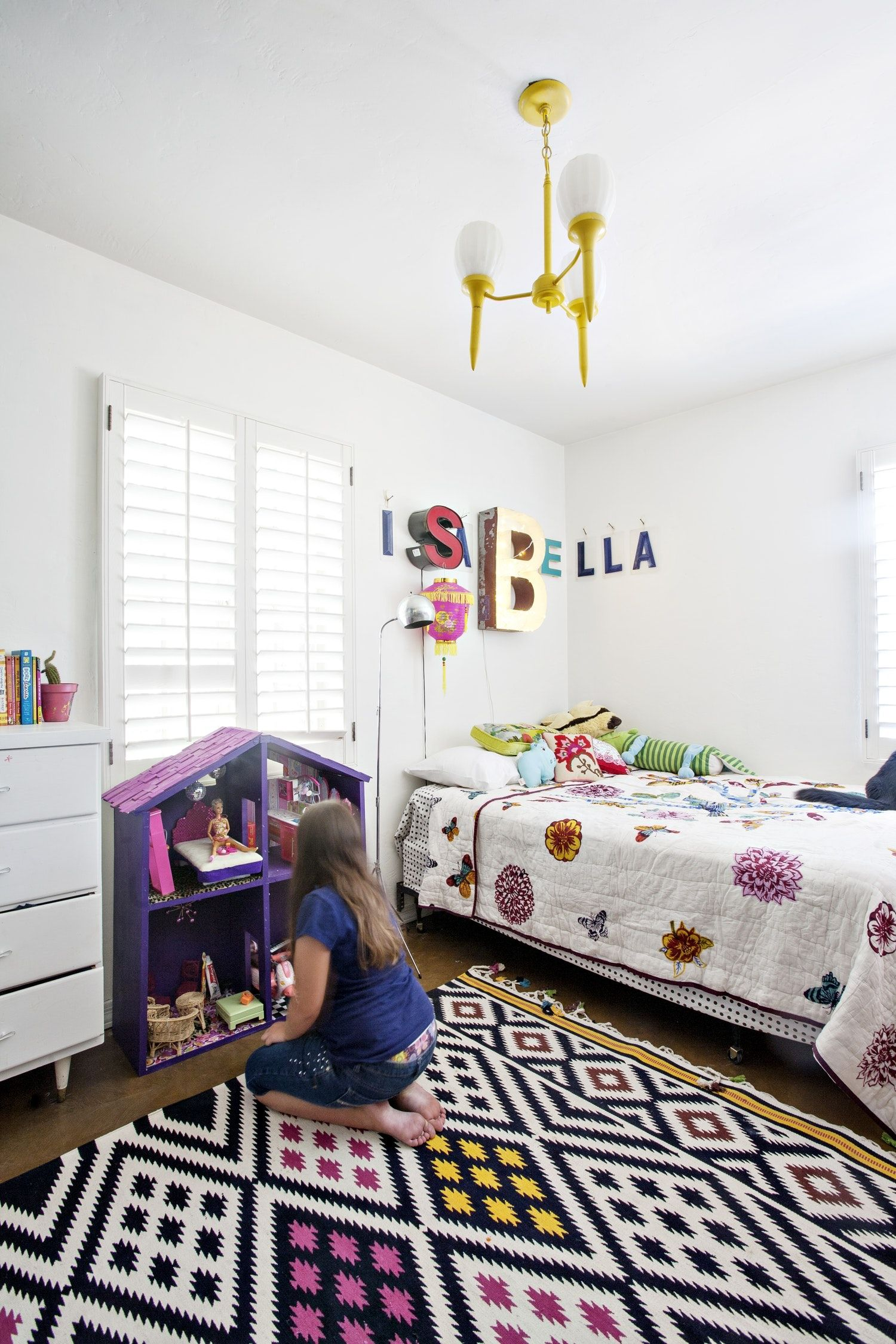 Cant Paint Your Childs Room Add Color With A Statement