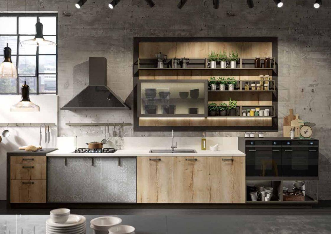 Snaidero cucine | Industrial Mood | Pinterest | Kitchens ...