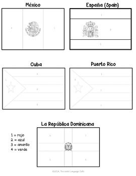 Passport To Flavor Cuba Flag Coloring Pages Cuba Cuba Facts