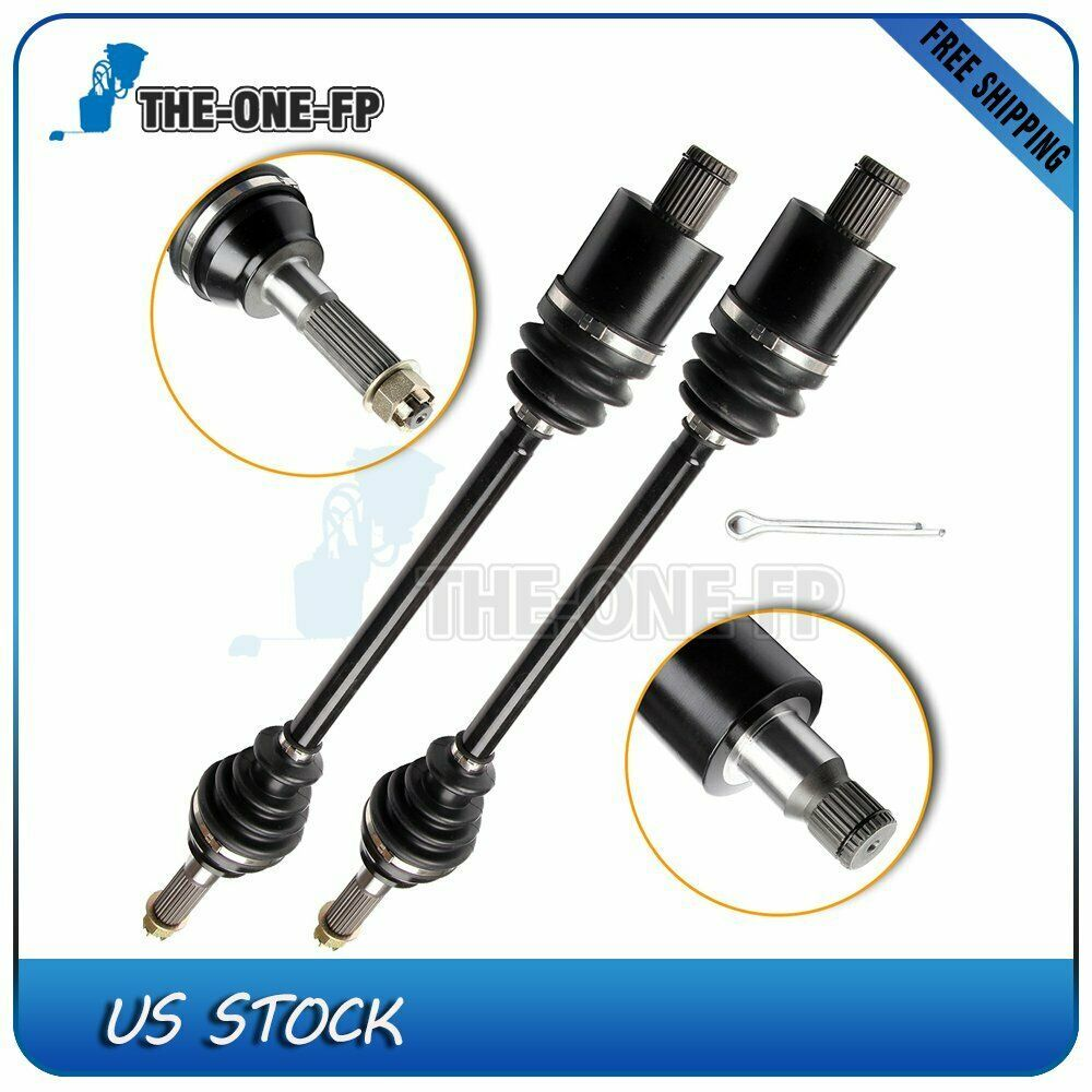 (eBay Advertisement) 2PC Complete Rear CV Joint Axle Left