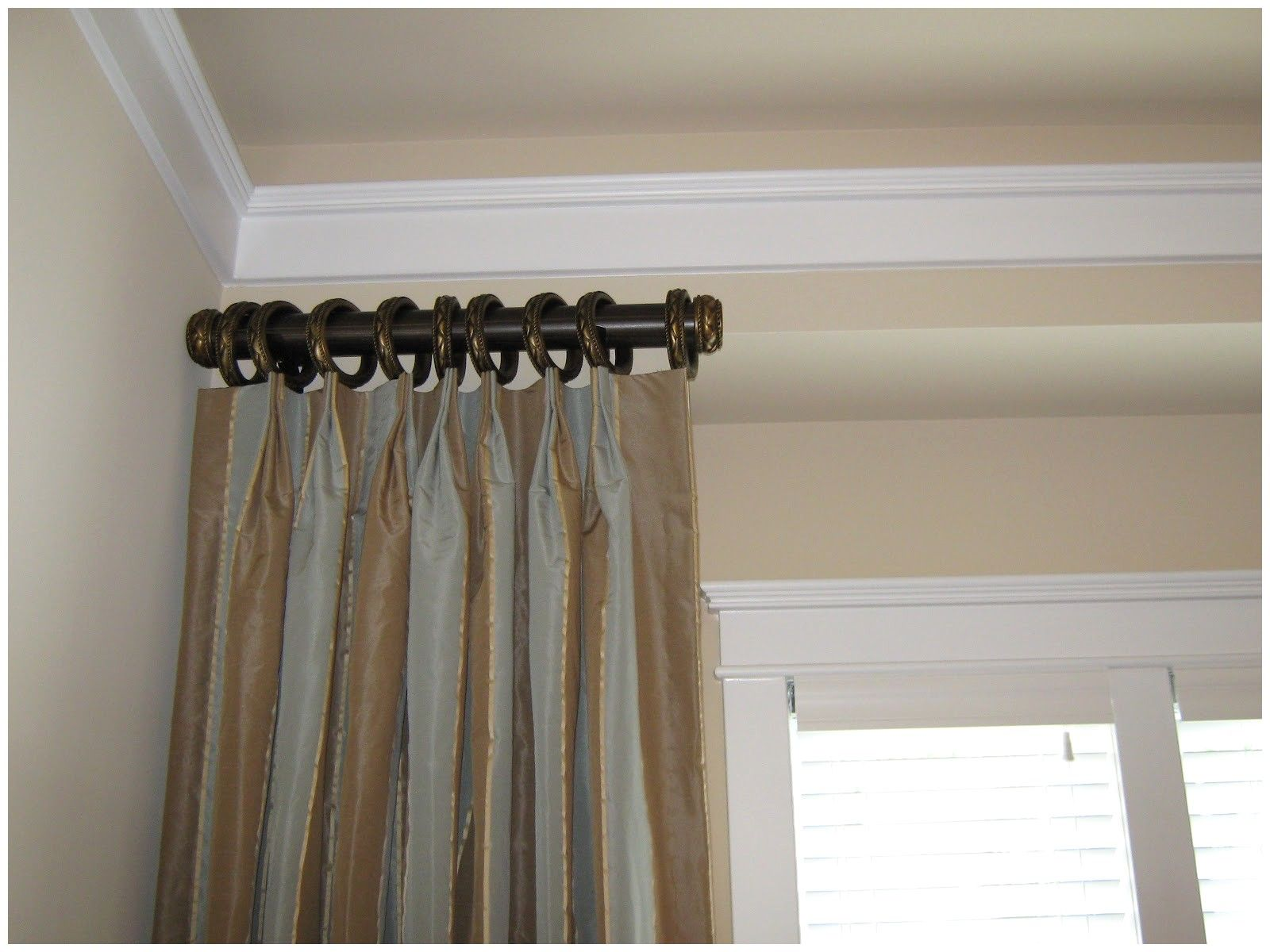 Crane Style Small Curtain Rods Short Curtain Rods Long Curtain