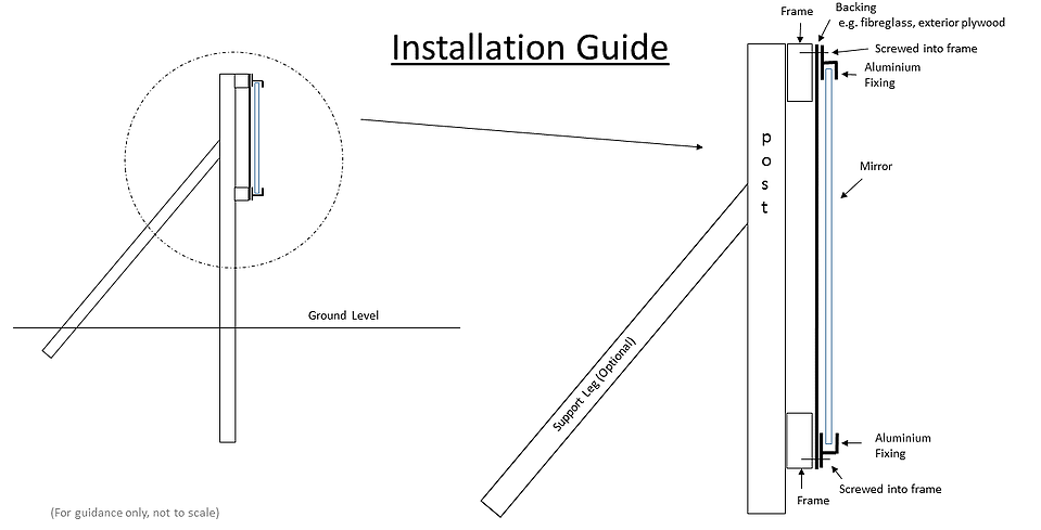 Simply Arena Mirrors Installation Guide Mirror Installation Diy Installation Installation