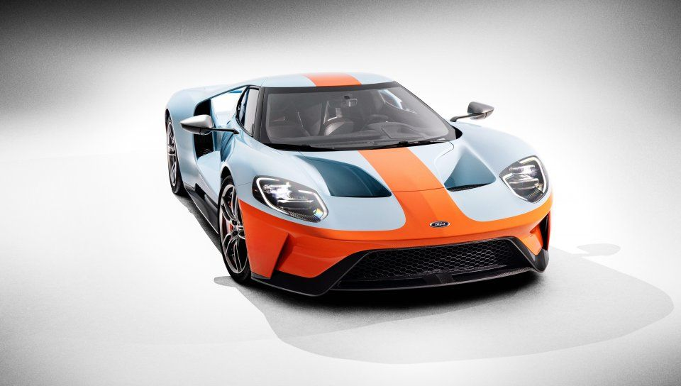 2018 Ford GT Heritage Edition, sports car Wallpaper