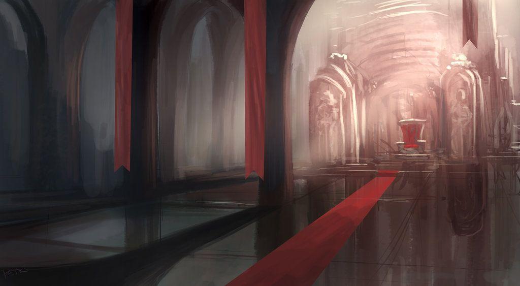 Empty Room Painting Digital