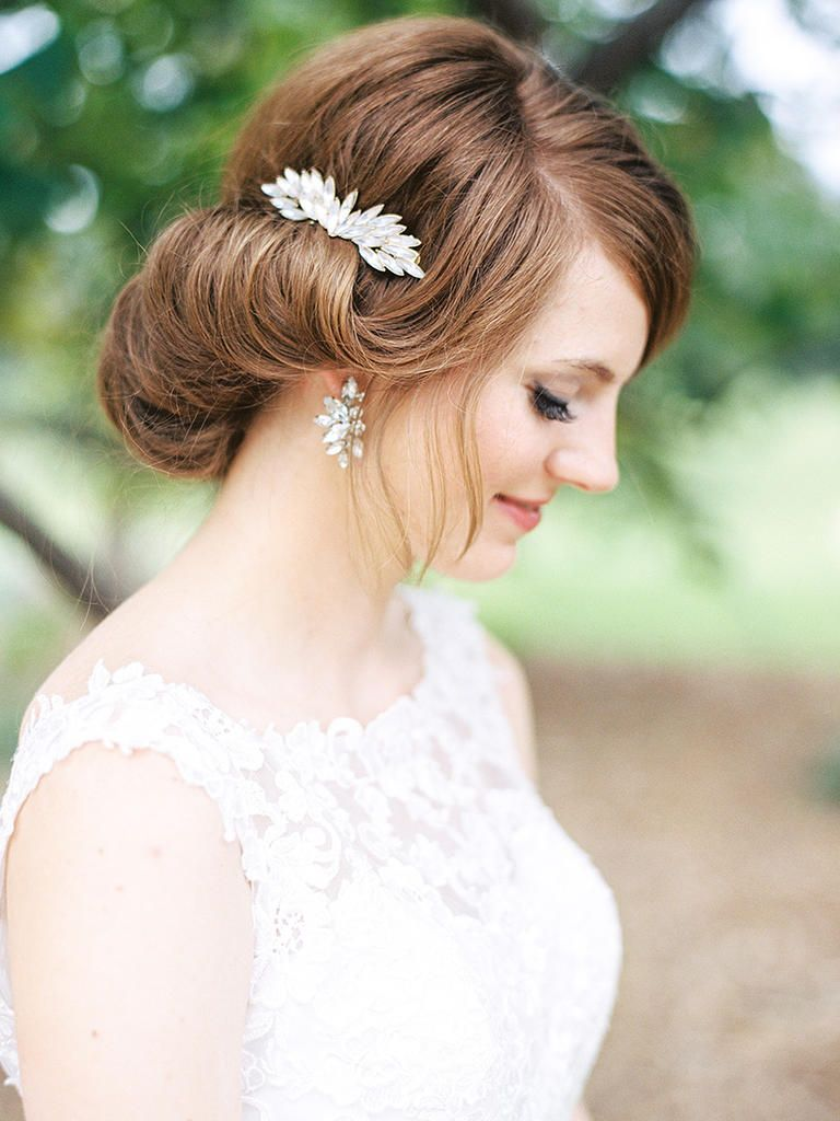 Vintage Wedding Hairstyles 22 Vintage Wedding Hairstyles For Old School Brides  Vintage