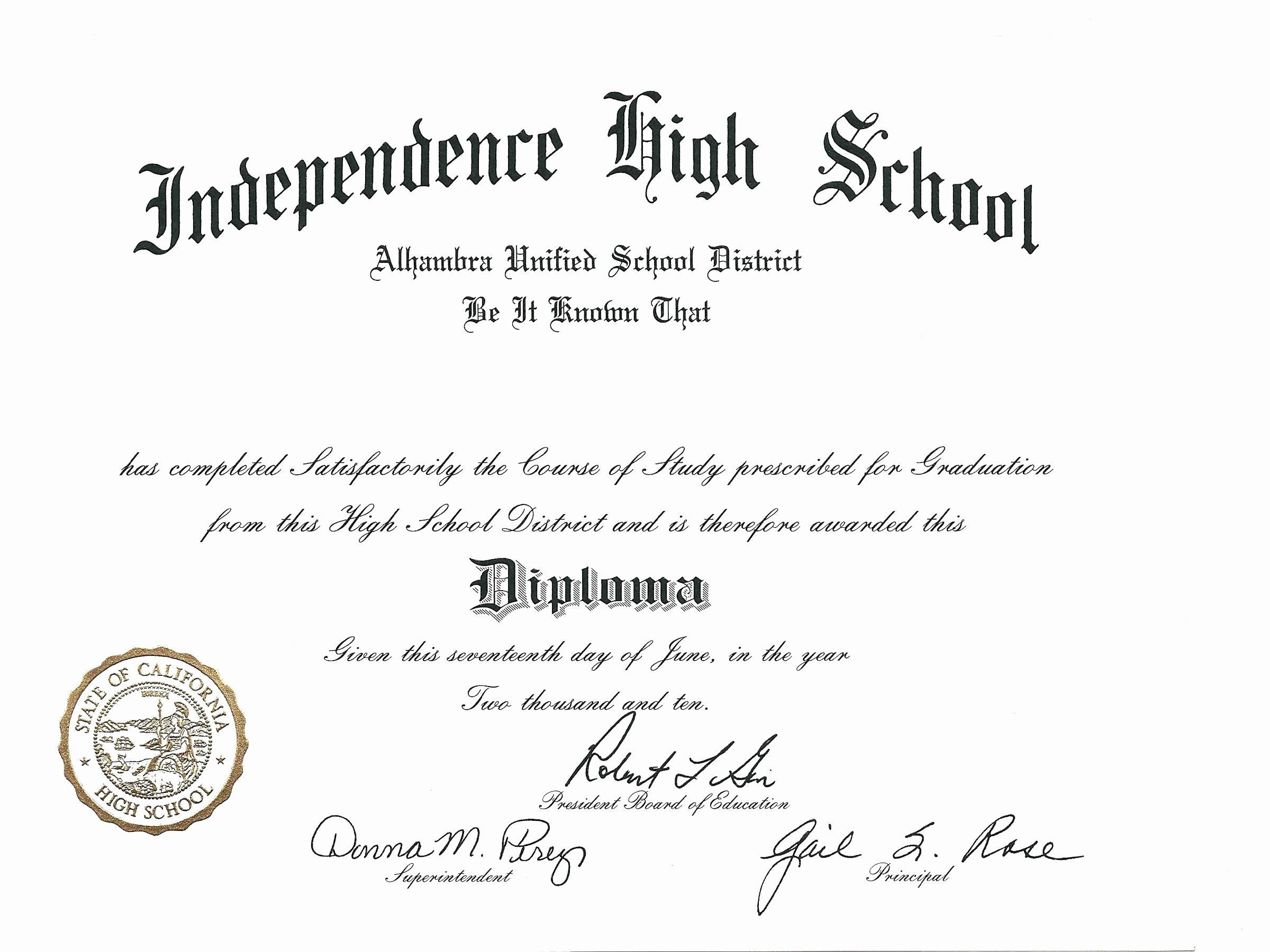 Template Ideas Free Printable Diploma Best Of Blank High