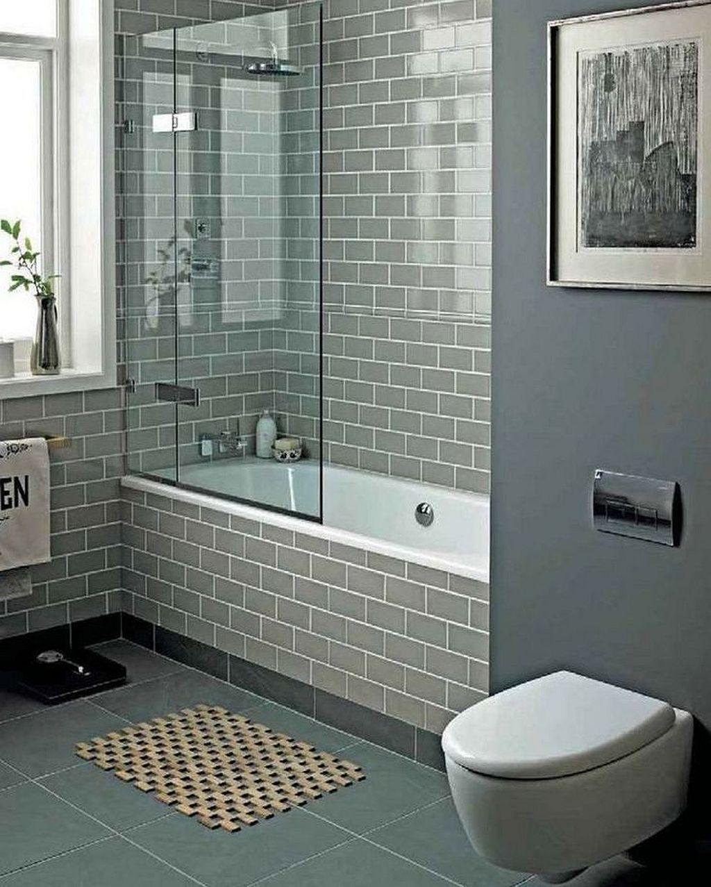 Tiny Bathroom Tub Shower Combo Remodeling Ideas 53 #remodelingideas ...