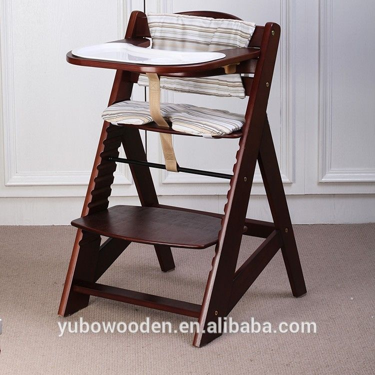 Time to source smarter wooden baby high chair baby