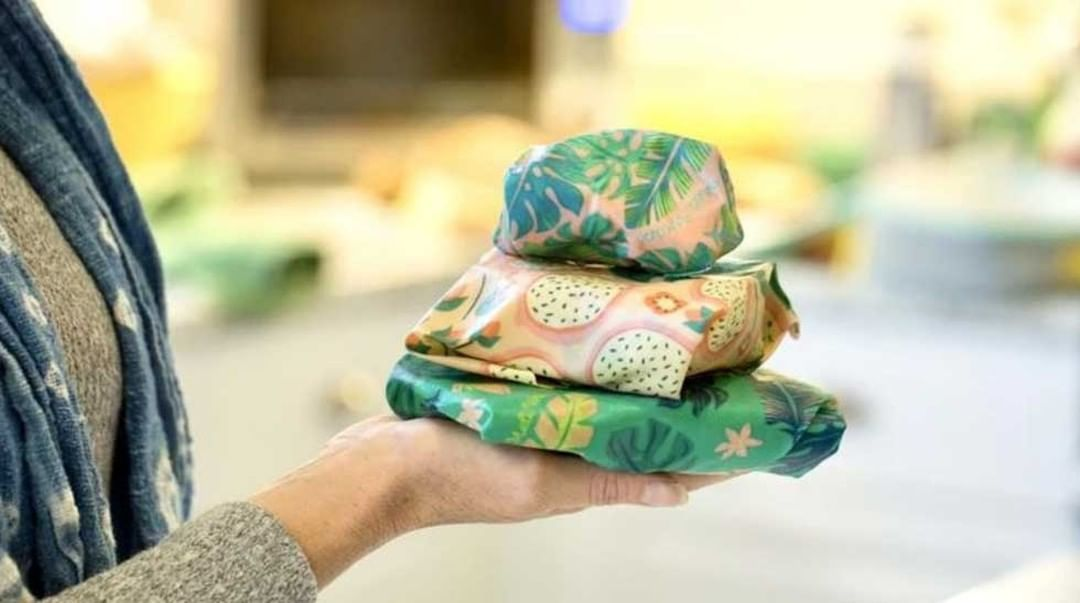 Make your leftover storage a snap with Meli Wraps reusable food beeswax wraps