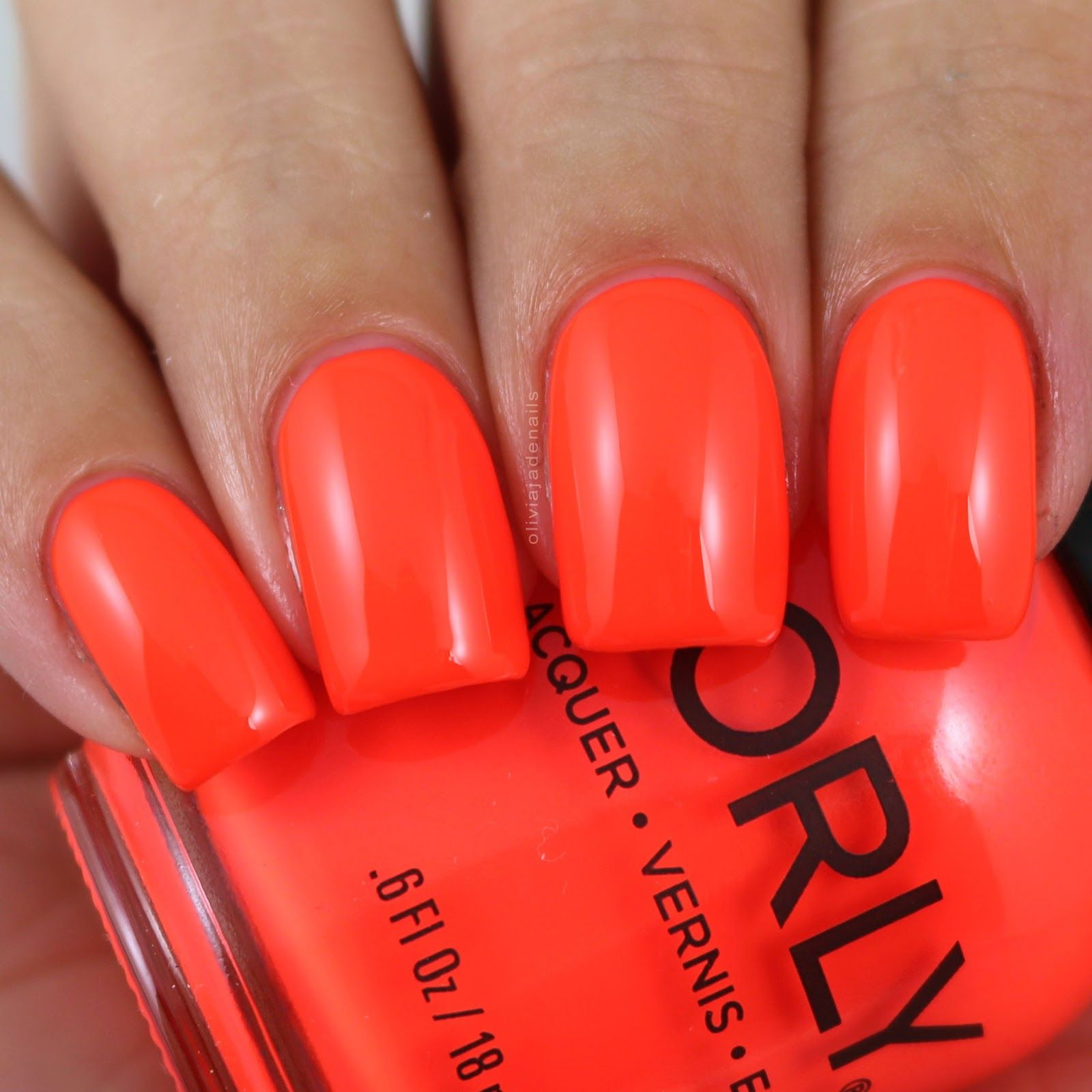 Orly Surfer Dude swatched by Olivia Jade Nails | Orly | Pinterest ...