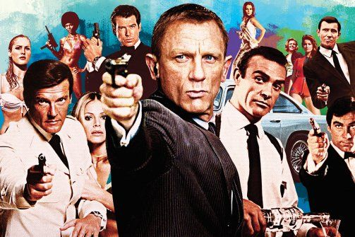 Shake us. Stir us. James Bond is back and cooler than ever. The iconic spy  at 50. By Simon Schama. Read at  www.thedailybeast.com b8134526c265