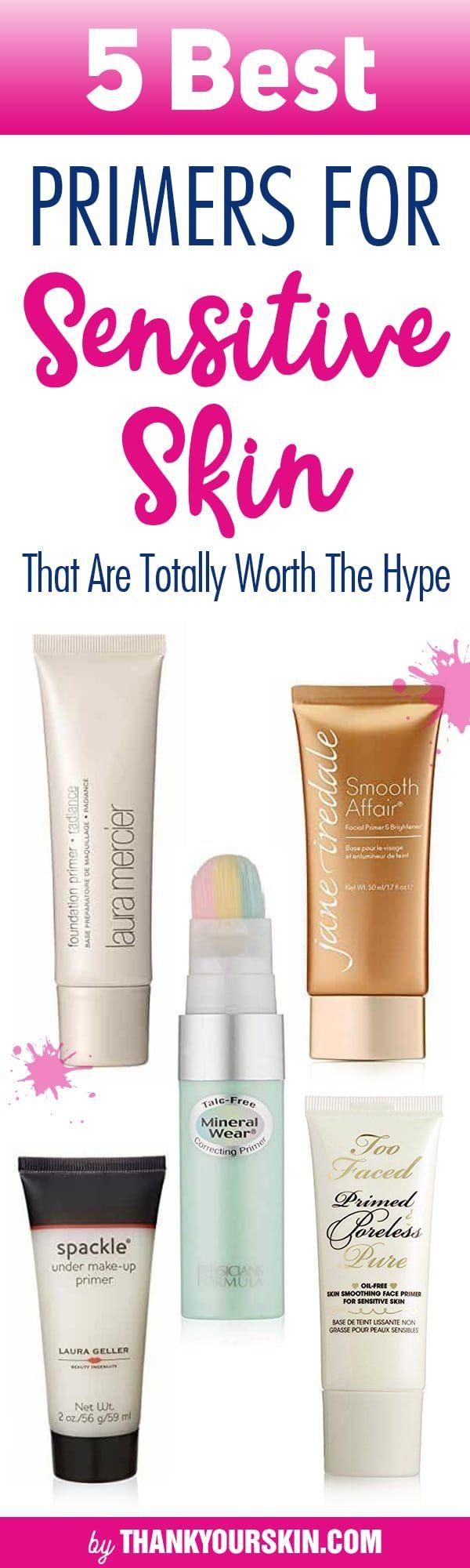 Best Primer for Sensitive Skin How to apply Primer