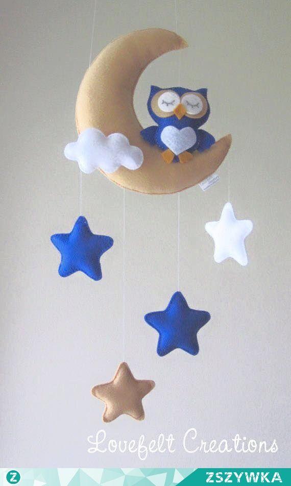Felt baby mobile | Baby | Pinterest | Filz, Nähen und Patengeschenke