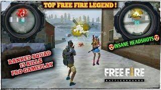 Ranked 15 Kills Squad Pro Gameplay Free Fire Own Kills 9 Free Fire