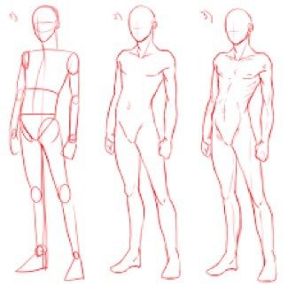 Imagen De Steps How To Draw And Body Body Drawing Tutorial Body Reference Drawing Drawing Body Poses
