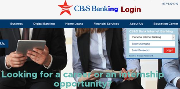 CBS Banking Login Online banking, Banking, Banking services