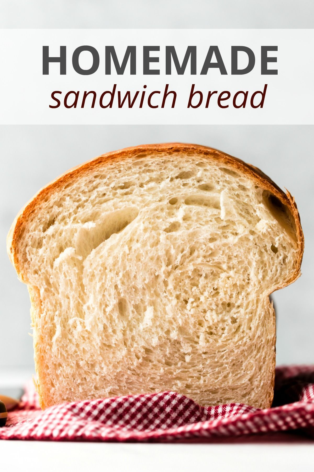 Learn how to make simple sandwich bread that rises extra tall with a buttery soft crumb and chewy crust. This recipe yields just 1 loaf of bread, so if you only have 1 loaf pan, it's perfect! sallysbakingaddiction.com